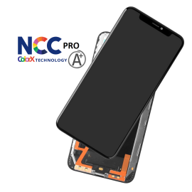 iPhone XS Max skærm - Komplet GLAS/LCD Incell (NCC Pro Fit - ColorX A+)