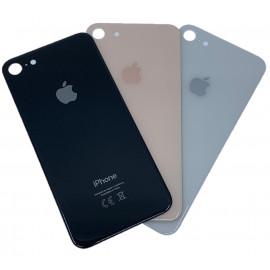 iPhone 8 - Bagside glas med logo og tekst - Original
