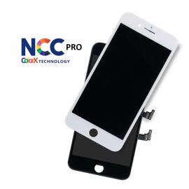 iPhone 8 Plus skærm - Komplet GLAS/LCD (NCC Pro Fit - ColorX) True Tone