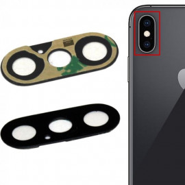 iPhone X - Glas linse
