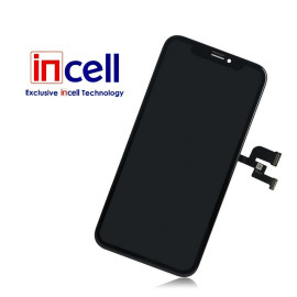 iPhone X skærm - Komplet GLAS/LCD (Incell LCD)