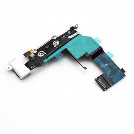 iPhone 5S - Lade dock, mikrofon og jack stik - Hvid