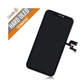 iPhone X skærm - Komplet GLAS/OLED (A+ Hard OLED)