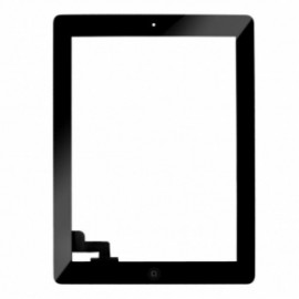 iPad 2 skærm (2012) - Komplet - Glas / Digitizer / Home knap (OEM) Model: A1395, A1396, A1397 - Sort