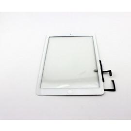 iPad 5 skærm (2017) Komplet Glas / Digitizer / Home knap (OEM) - Hvid