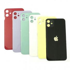 iPhone 11 - Bagside glas / Bagglas (BIG HOLE)
