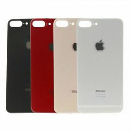 """iPhone 8 Plus - """"BIG HOLE"""" Bagside glas med logo og tekst"""