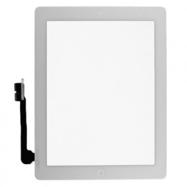 iPad 4 skærm (2012) - Komplet - Glas / Digitizer / Home knap (OEM) Model: A1458, A1459, A1460 - Hvid