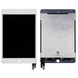 iPad Mini 4 Skærm (2015) Glas / LCD / Digitizer (OEM) Model: A1538, A1550 - Hvid