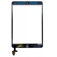iPad Mini 1 / 2 Skærm (2012 / 2013) Komplet - Glas / Digitizer / Home knap (OEM) Model: A1432, A1454, A1455, A1489, A1490, A1491 - Sort