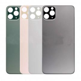 iPhone 11 Pro Max - Bagside glas / Bagglas (BIG HOLE Uden Logo)