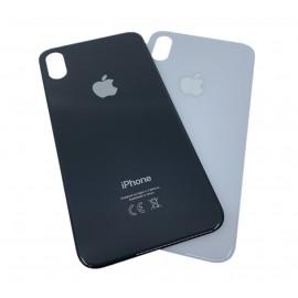 iPhone X - Bagside glas med logo og tekst - Original