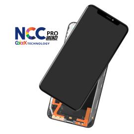 iPhone XS Max skærm - Komplet GLAS/OLED (NCC Pro Fit - ColorX OEM)