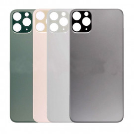 iPhone 11 Pro Max - Bagside glas / Bagglas (BIG HOLE)