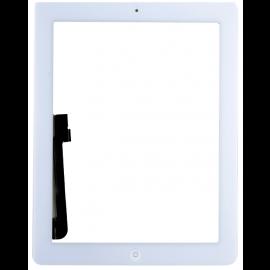 iPad 3 skærm (2012) - Komplet - Glas / Digitizer / Home knap (OEM) Model: A1416, A143, A1403 - Hvid