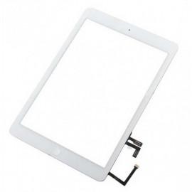 iPad Air skærm - Komplet - Glas / Digitizer / Home knap (OEM) - Hvid