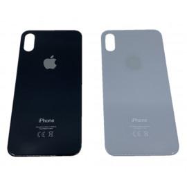 """iPhone X - """"BIG HOLE"""" Bagside glas med logo og tekst"""