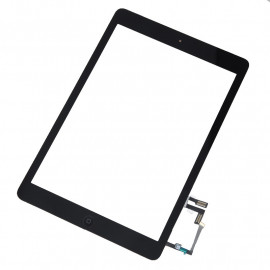 iPad Air skærm - Komplet - Glas / Digitizer / Home knap (OEM) - Sort