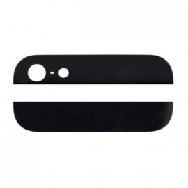 iPhone 5 - Bagglas - Top og bund - Sort