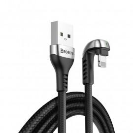 Baseus - U-Shaped Gamer Oplader / Lightning kabel - 1 meter