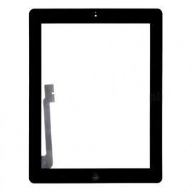iPad 3 skærm (2012) - Komplet - Glas / Digitizer / Home knap (OEM) Model: A1416, A143, A1403 - Sort