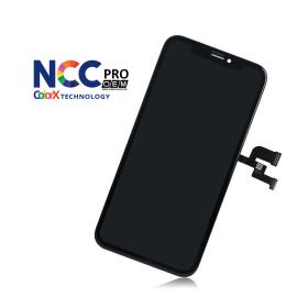 iPhone XS skærm - Komplet GLAS/OLED (NCC Pro Fit - ColorX OEM)